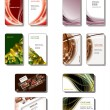 Business Card Templates. Vector Eps10. - 图库矢量图片