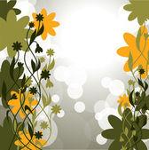 Flores. resumen de antecedentes. formato del vector eps10. — Vector de stock