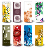 Vector Floral Banners. — Stock Vector