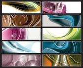 Abstract Vector Banners. — Stock Vector