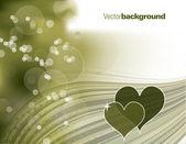 Vektor bakgrund. hjärtan. eps10 format. — Stockvektor