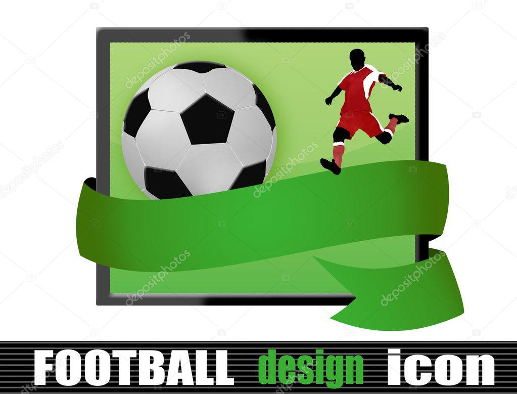 足球设计图标