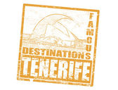 Tenerife stamp — Stock Vector
