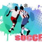 Soccer poster — Stock Vector #8351461