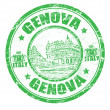 Genova stamp - Stock Vector