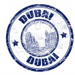 Dubai stamp — Stock Vector