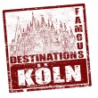 Koln stamp — Stock Vector #9389643
