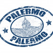 Palermo stamp — Stock Vector