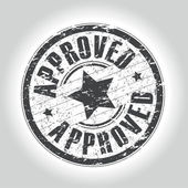 Approved stamp — Vecteur