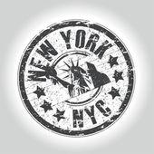 New york stamp — Stock Vector