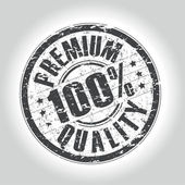 Premium quality stamp — Vector de stock
