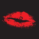 Labios sensuales — Vector de stock