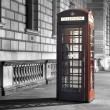 Calling from london — Stock Photo