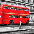 Red Bus in london — Stock Photo #8028729