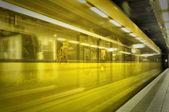 Subway in belgium — Stock Photo