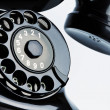Old, antique telephone — Stock Photo