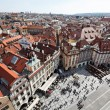 Prague, old town square, cityscape - Stock Photo