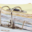 File folder with documents and documents — Stockfoto #10427510