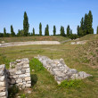 Carnuntum amphitheater in austria — Stock Photo