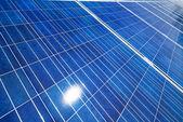 Alternative solar energy. solar energy power plant — Stock Photo