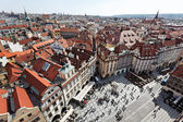 Prague, old town square, cityscape — Foto Stock