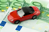 Car € bills. car costs, financing, l — Stock Photo