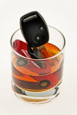Drunk driving. alkolenker. drunk driving — Stock Photo