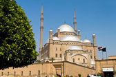 Egypt, cairo. mohammed ali mosque. outside. — Stock Photo