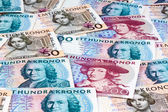 Swedish crowns. sweden's currency — Stock Photo