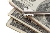 Dolar bankovek — Stock fotografie