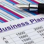 Business plan of a permanent establishment — Stock Photo