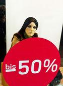 Sale 50 percent — Stock Photo
