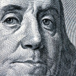 Royalty-Free Stock Photo: U.s. dollars bills. detail. franklin