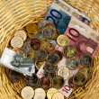 Royalty-Free Stock Photo: Donation basket for collection.