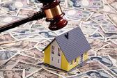 Housing crisis in yen financing — Stock Photo