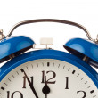 Alarm clock shows 11:55 — Stockfoto