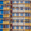 Residential building is being renovated. — Stock Photo