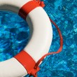 Swim rings in water — Stock Photo