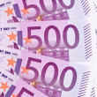 Close up of a euro banknote — Stock Photo