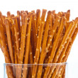 Pretzels as a snack — Stock Photo #8167223