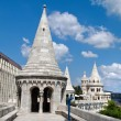 Hungary, budapest, fishermen's bastion. — Stock Photo