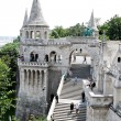 Stock Photo: Hungary, budapest, fishermen's bastion.