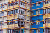 Residential building is being renovated. — Foto Stock