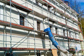 Renovation of a residential building — Stock Photo