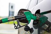 Tap for a petrol filling station — Stock Photo