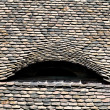 Shingles on an old house — Stock Photo