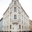 Stock Photo: Beautifully renovated art nouveau building