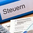 Austrian income tax return — Stock Photo #8174898
