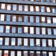 Windows of an old office building — Stock Photo #8175303