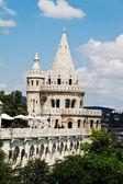 Hungary, budapest, fishermen's bastion. cityscape — Stock Photo
